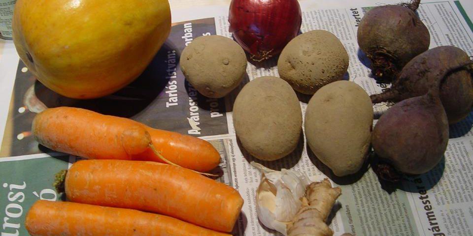téli zöldségek